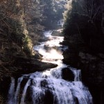Cullasaja Falls at dawn