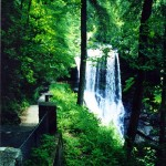 Dry Falls befoe new trail