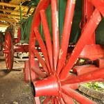 Wagon at Barn