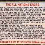 All NAtions Cross sign