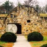 Tomb outside