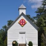 Pleasant Hill Church after restoration