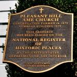 Pleasant Hill Plaque